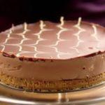 Шоколадный чизкейк без выпечки в домашних условиях