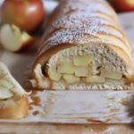 Сладкий хлеб с яблоками и карамелью рецепт