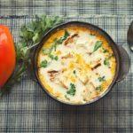 Французский сырный суп с морковью и плавленым сыром