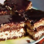 Как приготовить кокосовый торт-кремеш Монцы-ныны – пошаговый рецепт