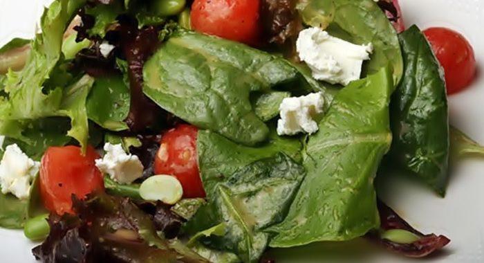 Салат с огурцами и шариками из арбуза рецепт