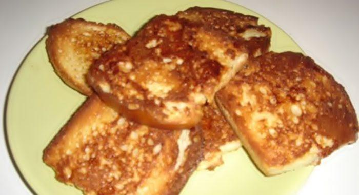 Хрустящие гренки к завтраку рецепт приготовления