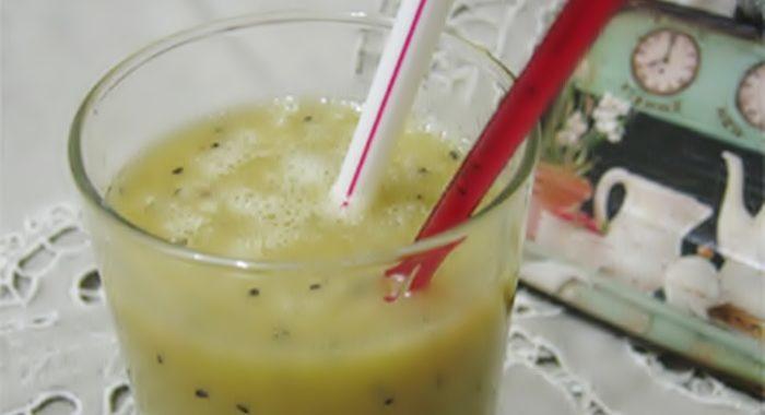 Коктейль из киви и банана рецепт