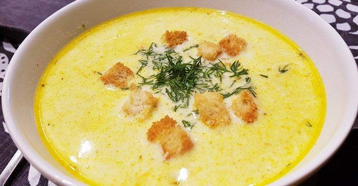 Суп с гренками как в столовой рецепт приготовления