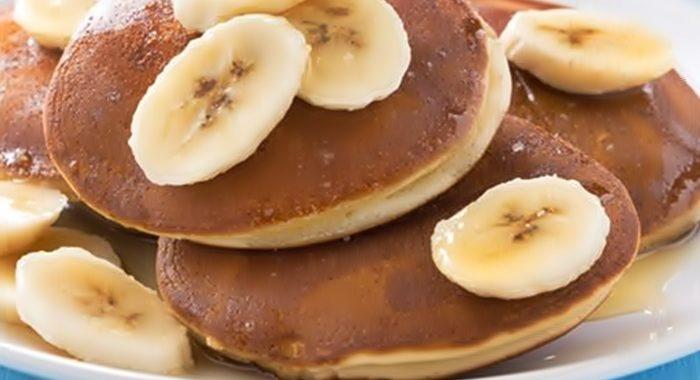 Рецепт блинчиков с бананом
