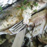 Рыба запеченная в укропном соусе рецепт приготовления
