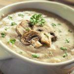Как приготовить сырный суп с шампиньонами