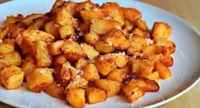 Картофель с пармезаном — готовим вкусно и правильно