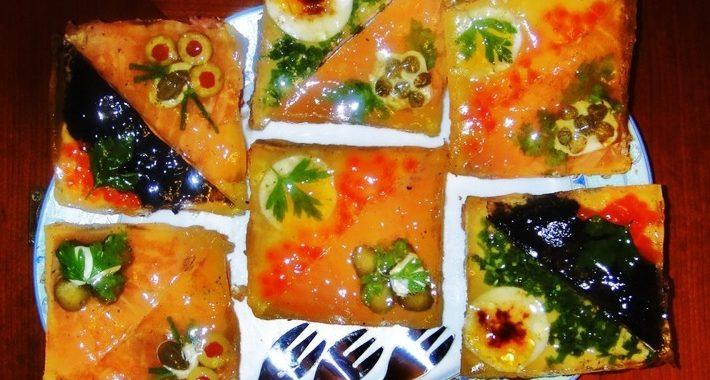 Бутерброды на Новый год – рецепт приготовления