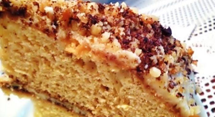 Торт Сладкоежка – рецепт приготовления
