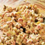 Как сделать печеночный блинный салат — пошаговый рецепт