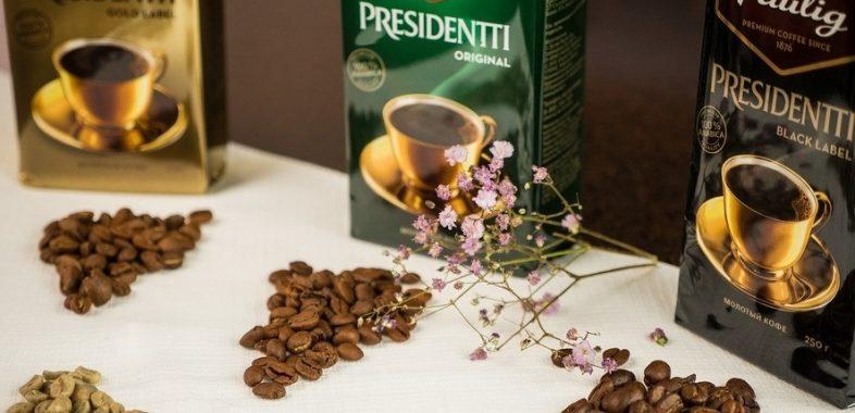 Несколько вариантов приготовления кофе Paulig President