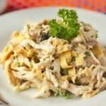 Салат блинный с курицей рецепт приготовления