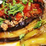 Фаршированные баклажаны с сыром в духовке рецепт