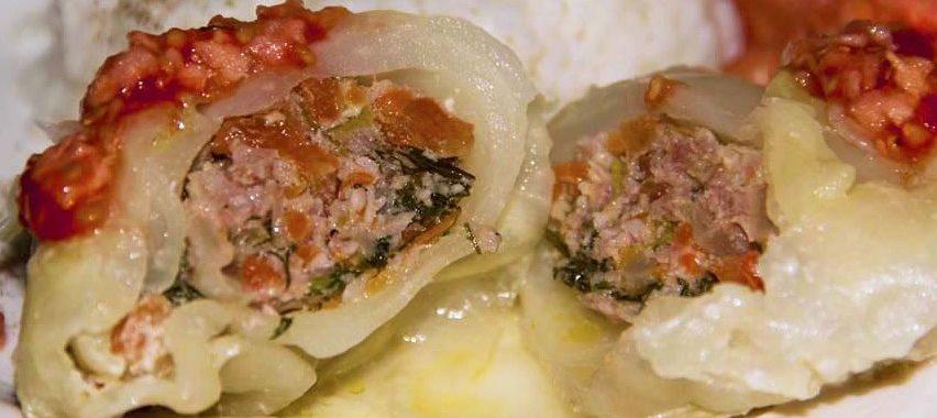 Голубцы с помидорами и зеленью – пошаговый рецепт с фото