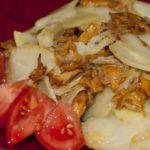 Картошка с лисичками - пошаговый рецепт с фото