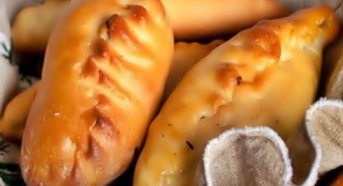 Пирожки с курицей и маслинами рецепт с фото