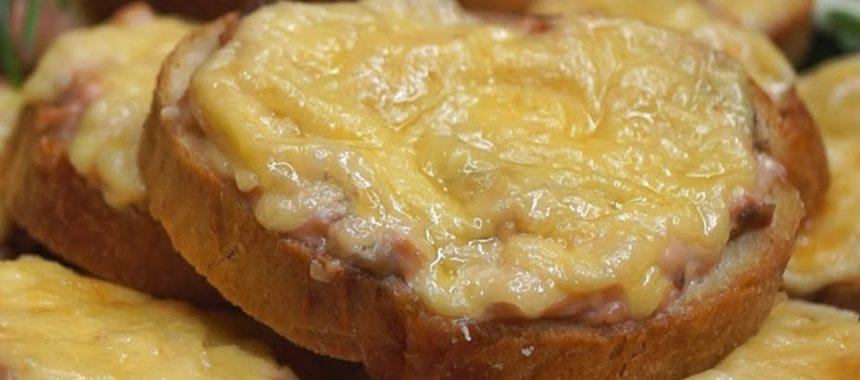 Горячие бутерброды с горбушей – рецепт
