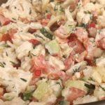 Салат с курицей и свежим огурцом рецепт приготовления