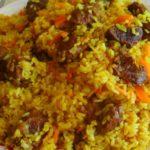 Плов с помидорами и морковью - рецепт приготовления