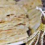 Торт Наполеон со сгущенкой – пошаговый рецепт с фото