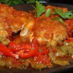 Курица каччиаторе рецепт с фото