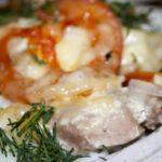 Индейка с помидорами запеченная под сыром – пошаговый рецепт с фото