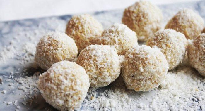 Клубнично-кокосовые рафаэлло – пошаговый рецепт