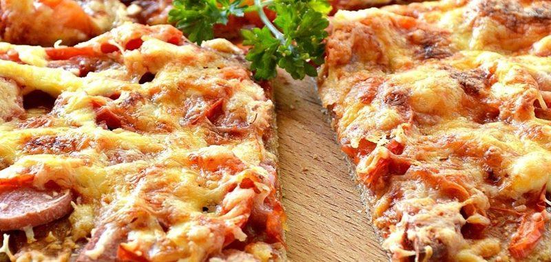 Пицца на слоеном тесте – пошаговый рецепт