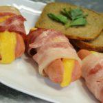 Сосиски фаршированные сыром – пошаговый рецепт