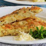 Картофельная запеканка с сыром и чесноком – пошаговый рецепт