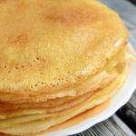Блины на молоке с яйцами – пошаговый рецепт
