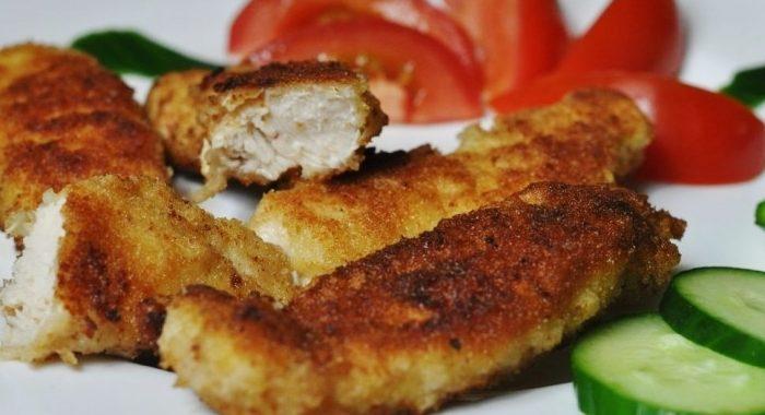 Наггетсы из куриной грудки на сковороде – пошаговый рецепт