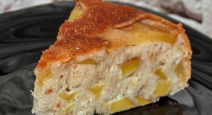 Шарлотка с яблоками и корицей – пошаговый рецепт