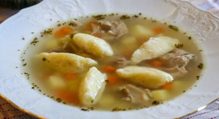 Куриный суп с клецками – пошаговый рецепт