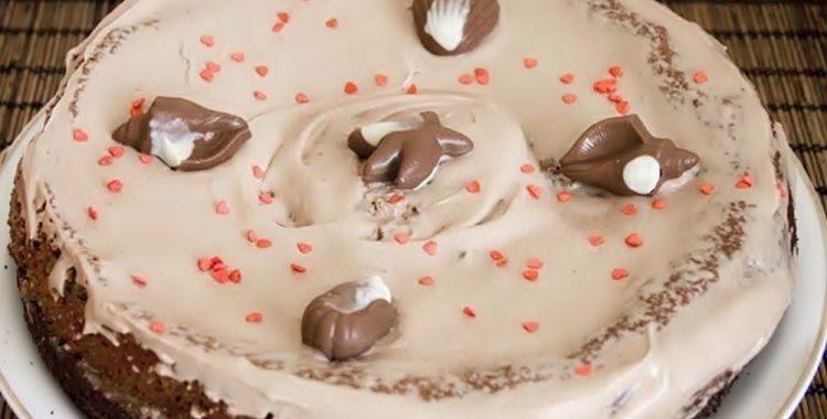 Торт Прага из сметанного теста – пошаговый рецепт