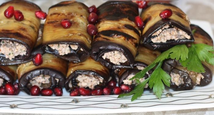 Баклажаны с орехами – пошаговый рецепт с фото