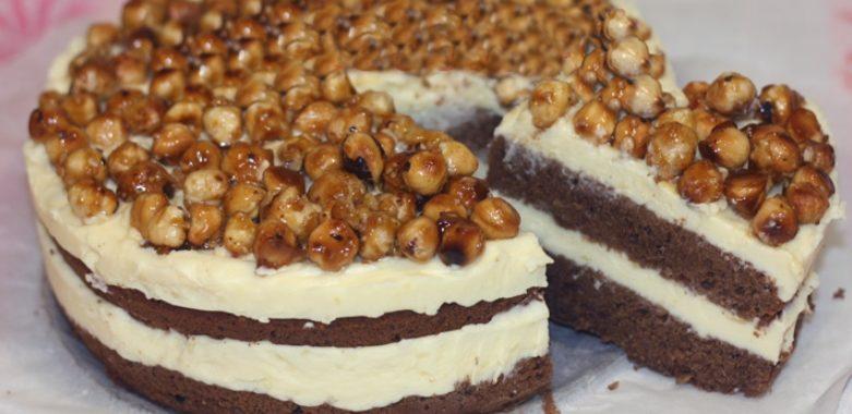 Торт с орехами – пошаговый рецепт с фото