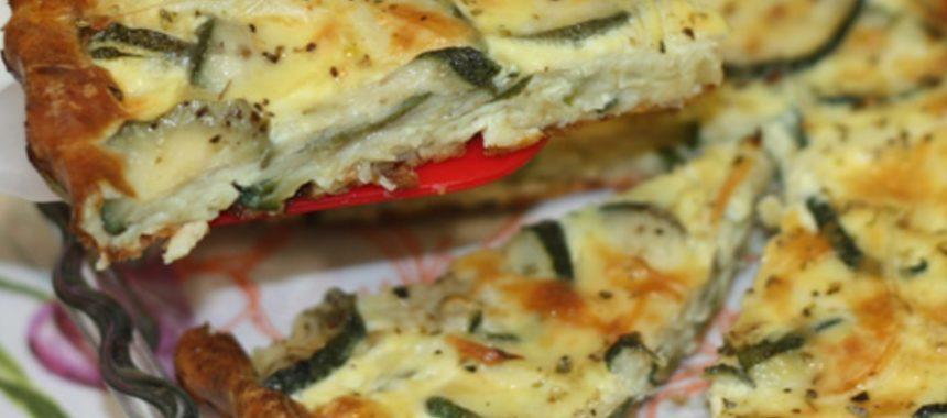 Кабачковый пирог – пошаговый рецепт с фото