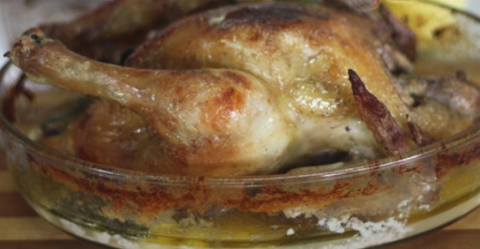 Курица в молоке, запеченная в духовке – пошаговый рецепт с фото