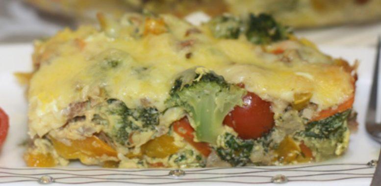 Овощная запеканка с сыром – пошаговый рецепт с фото