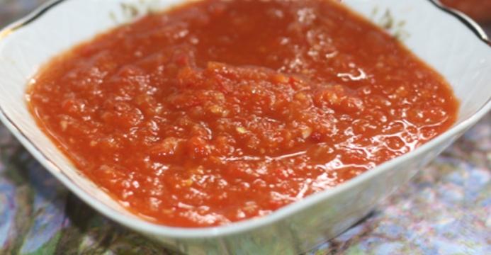 Аджика на зиму из помидоров – пошаговый рецепт с фото