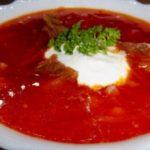 Украинский борщ - самый вкусный пошаговый рецепт с фото