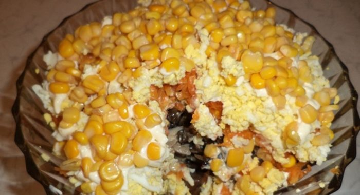Салат с ананасом и курицей – пошаговый рецепт