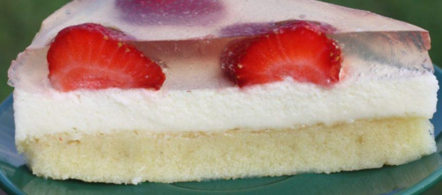 Торт с клубникой – пошаговый рецепт с фото