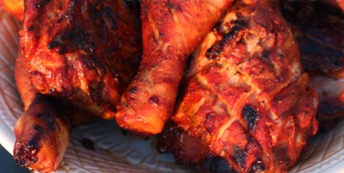 Курица на гриле в томате – пошаговый рецепт с фото