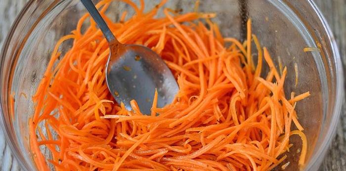 Морковь по-корейски в домашних условиях – пошаговый рецепт с фото