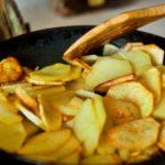 Картофель жареный кружочками – пошаговый рецепт