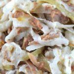 Салат узбекский с говядиной – пошаговый рецепт с фото