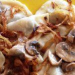 Вареники с картофелем и грибами – пошаговый рецепт